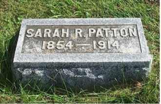PATTON, SARAH R. - Highland County, Ohio | SARAH R. PATTON - Ohio Gravestone Photos