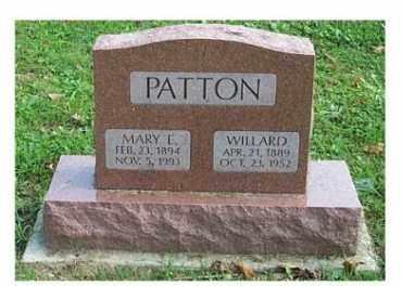 PATTON, MARY E. - Highland County, Ohio   MARY E. PATTON - Ohio Gravestone Photos