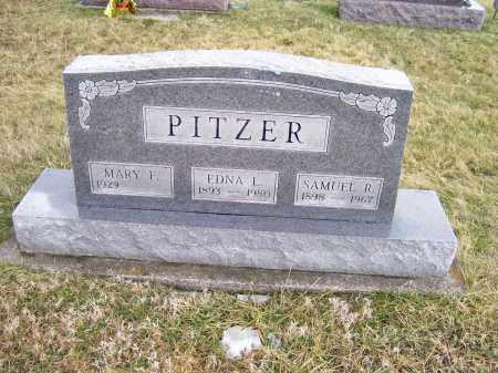 PITZER, MARY F. - Highland County, Ohio | MARY F. PITZER - Ohio Gravestone Photos