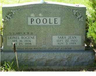 POOLE, SARA JEAN - Highland County, Ohio | SARA JEAN POOLE - Ohio Gravestone Photos