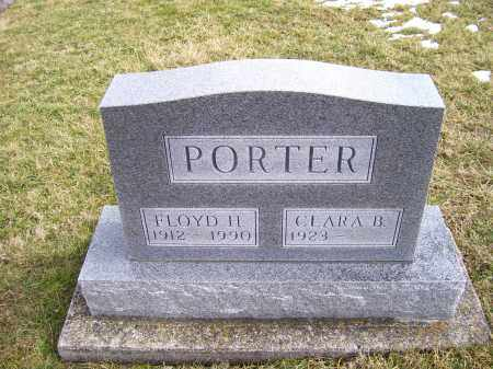 PORTER, CLARA B. - Highland County, Ohio   CLARA B. PORTER - Ohio Gravestone Photos