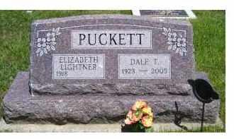 PUCKETT, ELIZABETH - Highland County, Ohio | ELIZABETH PUCKETT - Ohio Gravestone Photos