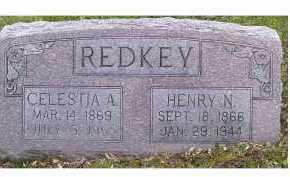 REDKEY, CELESTIA A. - Highland County, Ohio | CELESTIA A. REDKEY - Ohio Gravestone Photos
