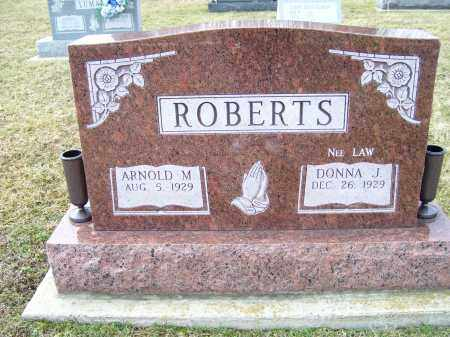 ROBERTS, ARNOLD M. - Highland County, Ohio | ARNOLD M. ROBERTS - Ohio Gravestone Photos