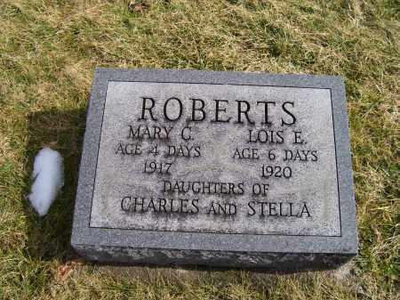 ROBERTS, MARY C. - Highland County, Ohio   MARY C. ROBERTS - Ohio Gravestone Photos