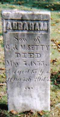 SETTY, ABRAHAM - Highland County, Ohio   ABRAHAM SETTY - Ohio Gravestone Photos