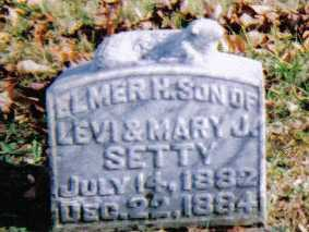 SETTY, ELMER H. - Highland County, Ohio | ELMER H. SETTY - Ohio Gravestone Photos
