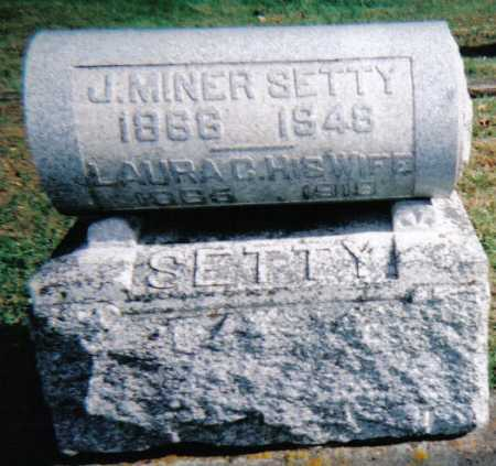 SETTY, J. MINER - Highland County, Ohio | J. MINER SETTY - Ohio Gravestone Photos
