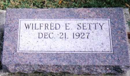 SETTY, WILFRED E. - Highland County, Ohio | WILFRED E. SETTY - Ohio Gravestone Photos
