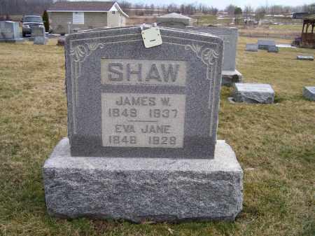 SHAW, EVA JANE - Highland County, Ohio | EVA JANE SHAW - Ohio Gravestone Photos