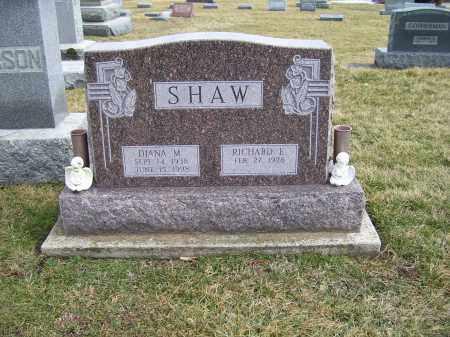 SHAW, RICHARD E. - Highland County, Ohio   RICHARD E. SHAW - Ohio Gravestone Photos