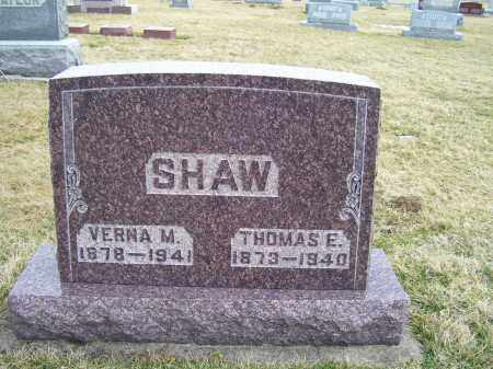 SHAW, VERNA M. - Highland County, Ohio | VERNA M. SHAW - Ohio Gravestone Photos