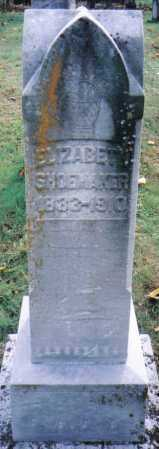 SHOEMAKER, ELIZABETH - Highland County, Ohio | ELIZABETH SHOEMAKER - Ohio Gravestone Photos