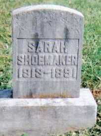 SHOEMAKER, SARAH - Highland County, Ohio | SARAH SHOEMAKER - Ohio Gravestone Photos