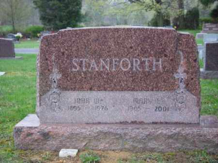 STANFORTH, MARY - Highland County, Ohio | MARY STANFORTH - Ohio Gravestone Photos