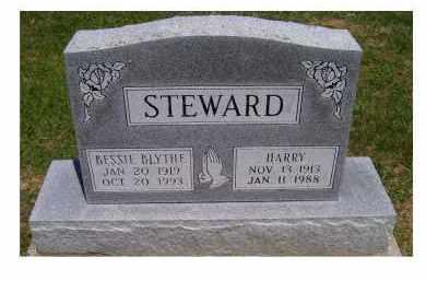 STEWARD, BESSIE - Highland County, Ohio | BESSIE STEWARD - Ohio Gravestone Photos