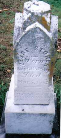 STORER, JESSE - Highland County, Ohio | JESSE STORER - Ohio Gravestone Photos