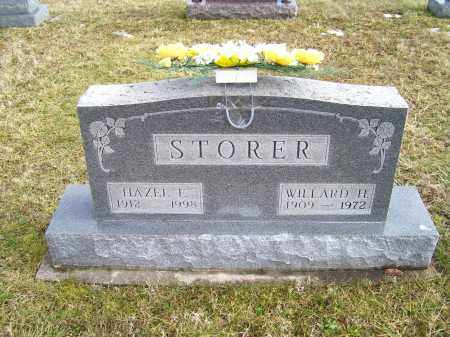 STORER, HAZEL E. - Highland County, Ohio | HAZEL E. STORER - Ohio Gravestone Photos