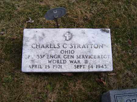 STRATTON, CHARLES C. - Highland County, Ohio | CHARLES C. STRATTON - Ohio Gravestone Photos