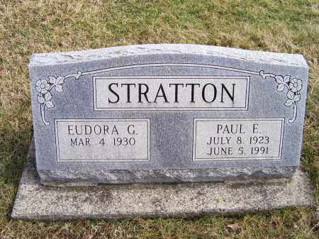 STRATTON, EUDORA G. - Highland County, Ohio | EUDORA G. STRATTON - Ohio Gravestone Photos