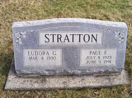 STRATTON, PAUL E. - Highland County, Ohio | PAUL E. STRATTON - Ohio Gravestone Photos