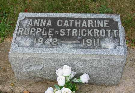 STRICKROTT, ANNA CATHERINE - Highland County, Ohio | ANNA CATHERINE STRICKROTT - Ohio Gravestone Photos