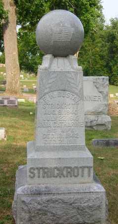 STRICROTT, GUSTAVE & ANNA - Highland County, Ohio | GUSTAVE & ANNA STRICROTT - Ohio Gravestone Photos