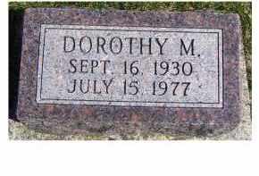 TENER, DOROTHY M. - Highland County, Ohio | DOROTHY M. TENER - Ohio Gravestone Photos
