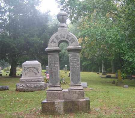TENER, JONATHAN - Highland County, Ohio | JONATHAN TENER - Ohio Gravestone Photos