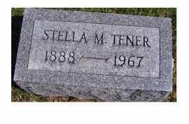 TENER, STELLA M. - Highland County, Ohio | STELLA M. TENER - Ohio Gravestone Photos
