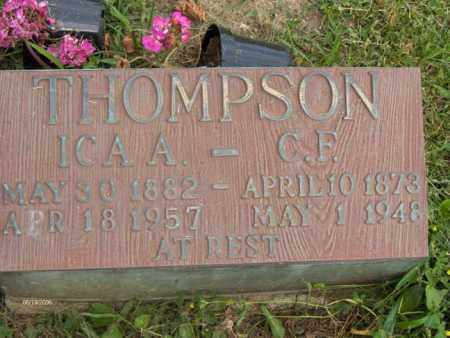 THOMPSON, ICA ANNA - Highland County, Ohio | ICA ANNA THOMPSON - Ohio Gravestone Photos