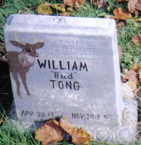 "TONG, WILLIAM ""BUD"" - Highland County, Ohio 