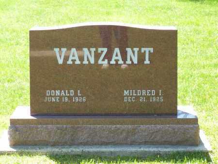 VANZANT, DONALD L. - Highland County, Ohio   DONALD L. VANZANT - Ohio Gravestone Photos