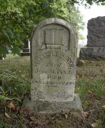 VIGNON, ALEXANDER - Highland County, Ohio | ALEXANDER VIGNON - Ohio Gravestone Photos