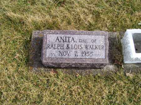WALKER, ANITA - Highland County, Ohio | ANITA WALKER - Ohio Gravestone Photos