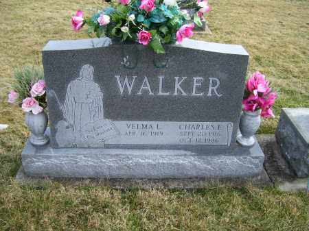 WALKER, CHARLES E. - Highland County, Ohio | CHARLES E. WALKER - Ohio Gravestone Photos