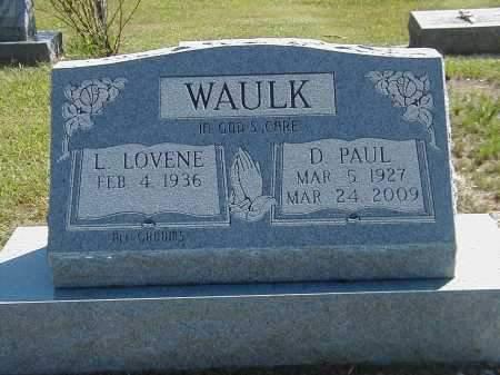 WAULK, D PAUL - Highland County, Ohio | D PAUL WAULK - Ohio Gravestone Photos