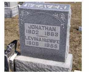 WEAVER, LEVINA - Highland County, Ohio | LEVINA WEAVER - Ohio Gravestone Photos
