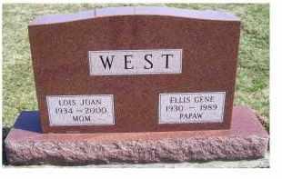 WEST, ELLIS GENE - Highland County, Ohio | ELLIS GENE WEST - Ohio Gravestone Photos