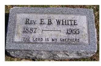 WHITE, E. B. - Highland County, Ohio | E. B. WHITE - Ohio Gravestone Photos