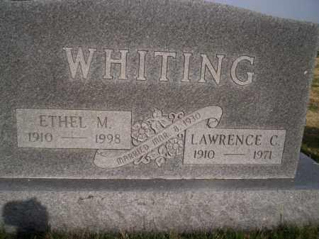 MORRIS WHITING, ETHEL MAE - Highland County, Ohio   ETHEL MAE MORRIS WHITING - Ohio Gravestone Photos