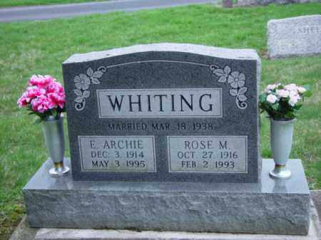 WHITING, EARL ARCHIE - Highland County, Ohio | EARL ARCHIE WHITING - Ohio Gravestone Photos