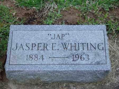WHITING, JASPER EARL - Highland County, Ohio | JASPER EARL WHITING - Ohio Gravestone Photos