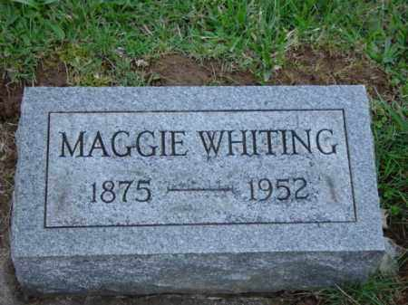 "WHITING, MARGARET ""MAGGIE"" BELL - Highland County, Ohio 