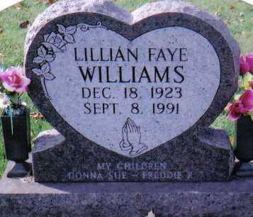 WILLIAMS, LILLIAN FAYE - Highland County, Ohio | LILLIAN FAYE WILLIAMS - Ohio Gravestone Photos