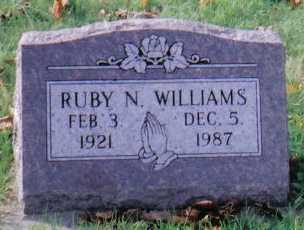WILLIAMS, RUBY N. - Highland County, Ohio | RUBY N. WILLIAMS - Ohio Gravestone Photos