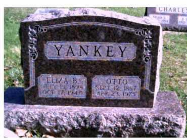 YANKEY, ELIZA B. - Highland County, Ohio | ELIZA B. YANKEY - Ohio Gravestone Photos