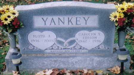 EDISON YANKEY, CAROLYN Y. - Highland County, Ohio | CAROLYN Y. EDISON YANKEY - Ohio Gravestone Photos