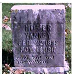 YANKEY, HOMER - Highland County, Ohio   HOMER YANKEY - Ohio Gravestone Photos