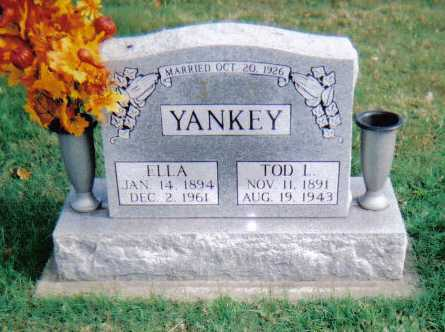 YANKEY, ELLA - Highland County, Ohio   ELLA YANKEY - Ohio Gravestone Photos